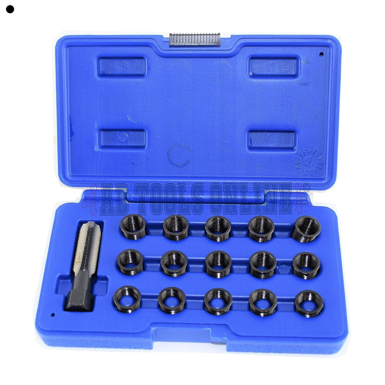 Zur/ückgreifen auf bougie von Rethreading Kit Set Reparatur von Gewinde M14 x 1,25 16PC