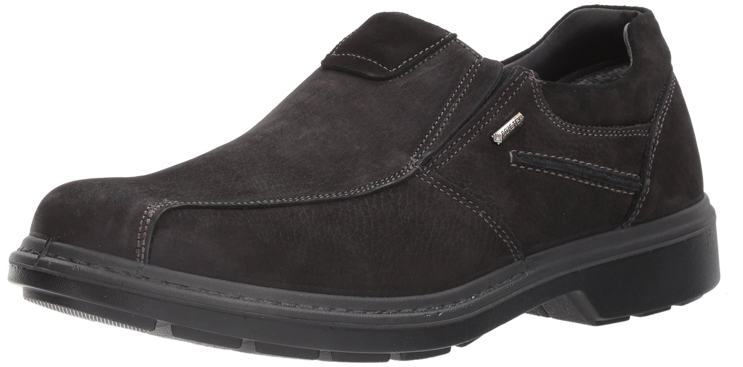 ara Men's Jameson Loafer, Black Nubuck, 40 W EU (7-7.5 US)