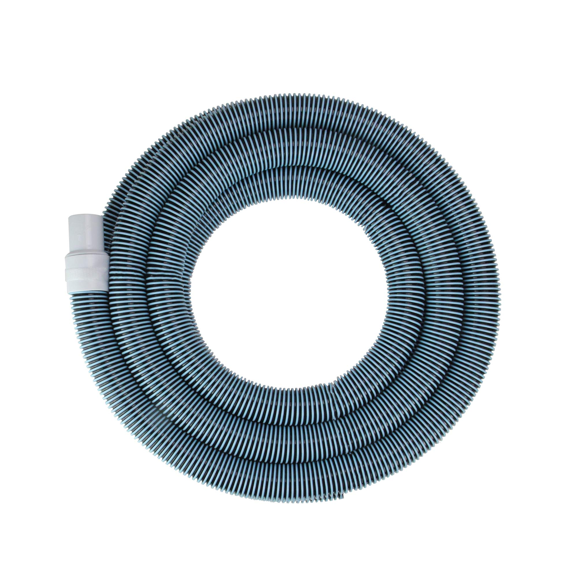 Spiral Wound Vacuum Swimming Pool Hose with Swivel Cuff - 18' x 1.25''