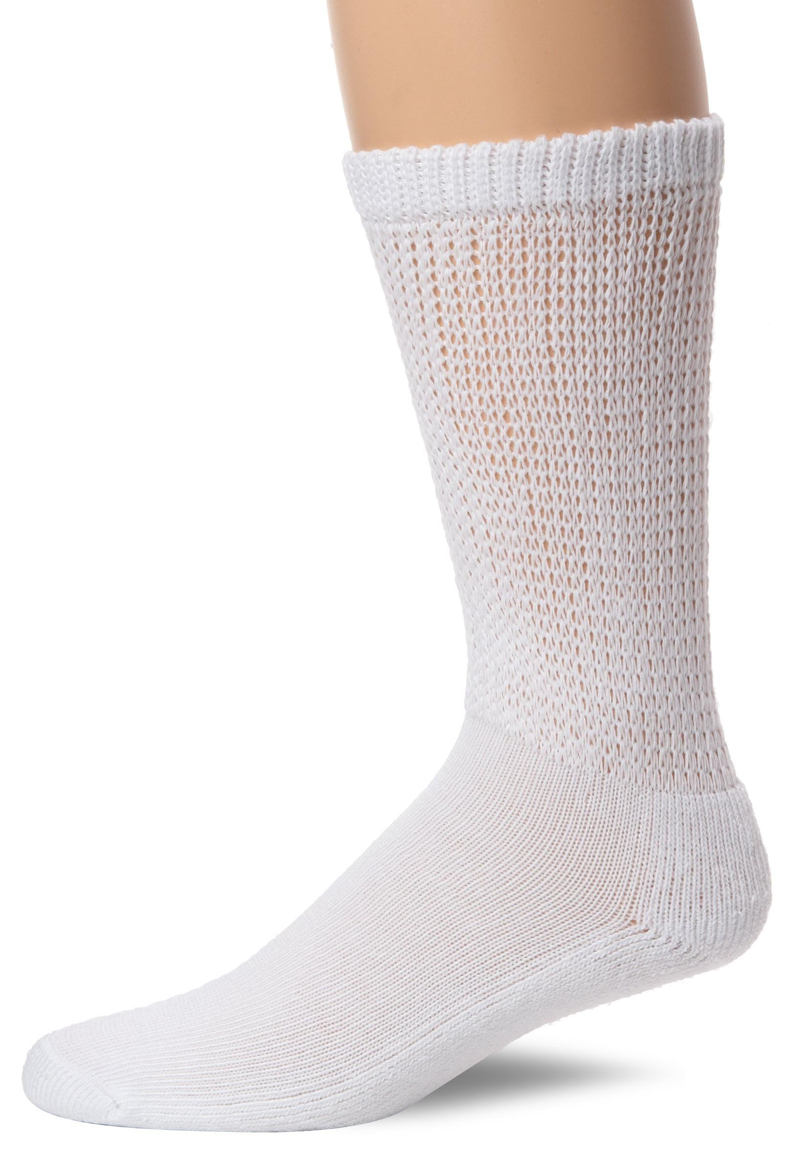 Dr. Scholl's Men's Diabetes and Circulatory Odor Resistant Crew Socks