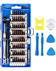 Smraza 68 in 1 Precision Screwdriver Set with 57 Bit Magnetic Screwdriver Kit, Repair Tools Kit for iPhone, Smartphone, Tablet, Macbook, Xbox, Cellphone, PC, Game Console and Other Electronics Devices