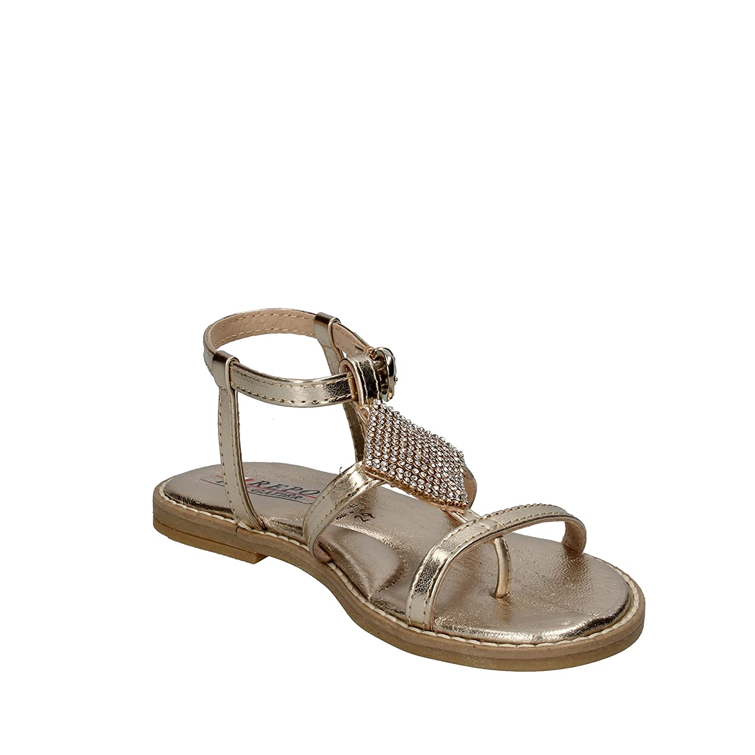 Phil Gatier By Repo Sandals Baby-Girls Leather Silver