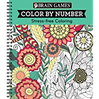 Brain Games® Color by Number: Stress-Free Coloring (Green)