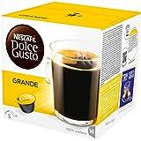 Nescafé Dolce Gusto Caffe Crema Grande Kaffeekapseln (100% Arabica Bohnen, Feinste Crema und kräftiges Aroma, aus nachhaltigem Anbau Blitzschnelle Zubereitung) 3er Pack (3 x 16 Kapseln)