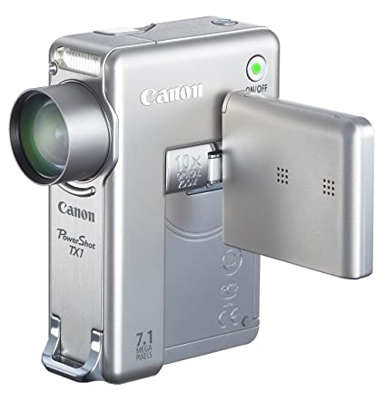 NEW DRIVERS: CANON POWERSHOT TX1