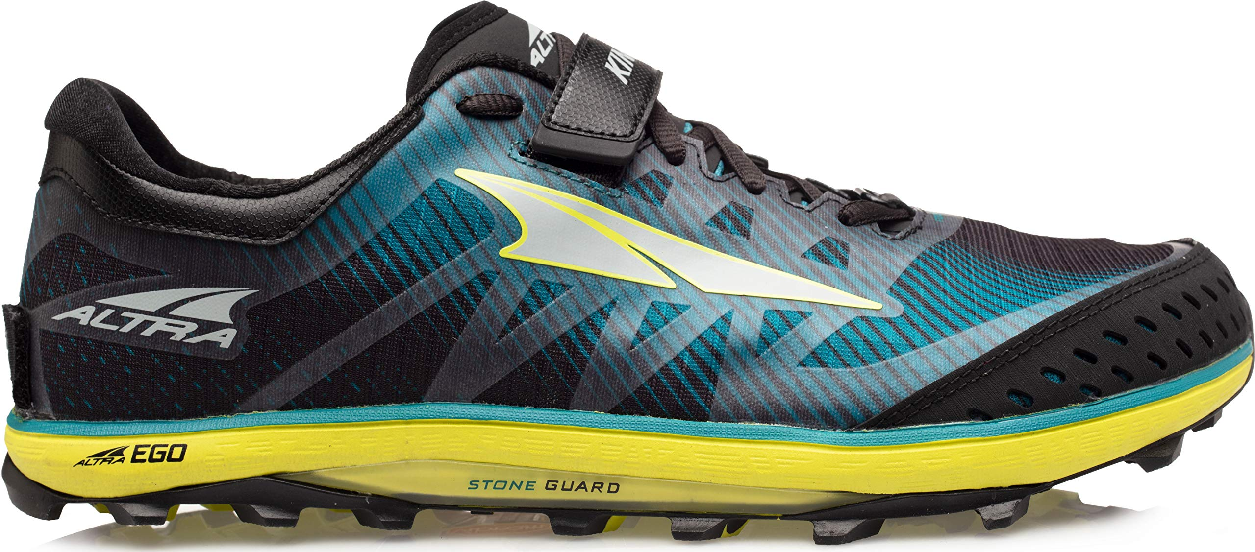 Altra Men's King MT 2 Trail Running Shoe, Teal/Lime - 8.5 M US by Altra
