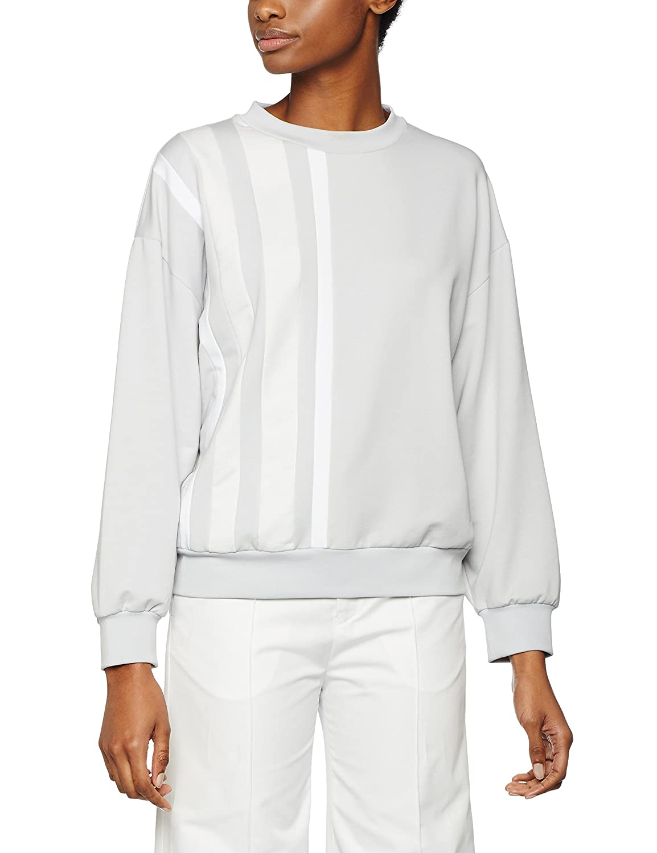TALLA 42 (Talla del fabricante:L). Filippa K Stripe Sweatshirt Sudadera para Mujer