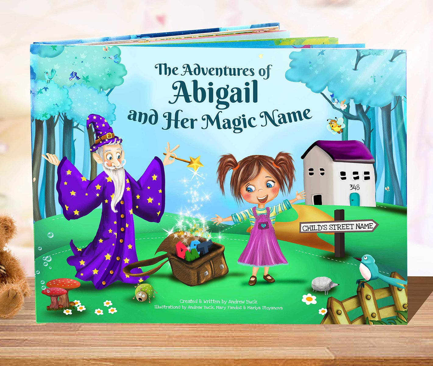 Personalized Story Book for Kids - Every Name Creates A Unique Rhyming Story - Keepsake Gift