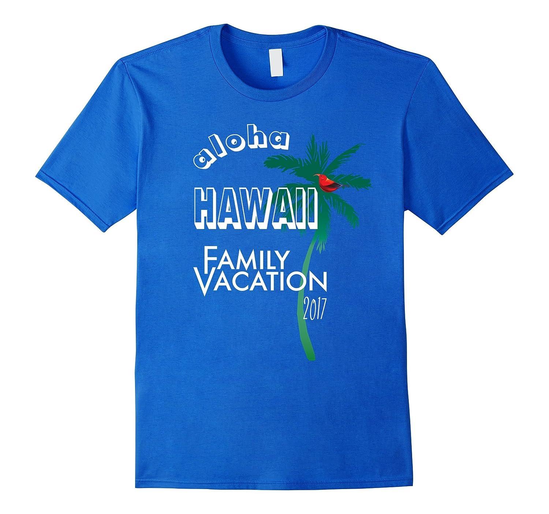 Hawaii Family Vacation Shirt 2017-Souvenir Holiday Tee-T-Shirt