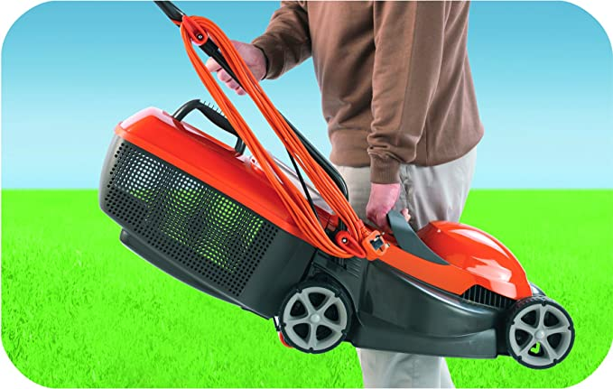 Flymo Chevron 32V Electric Wheeled Lawn image 4