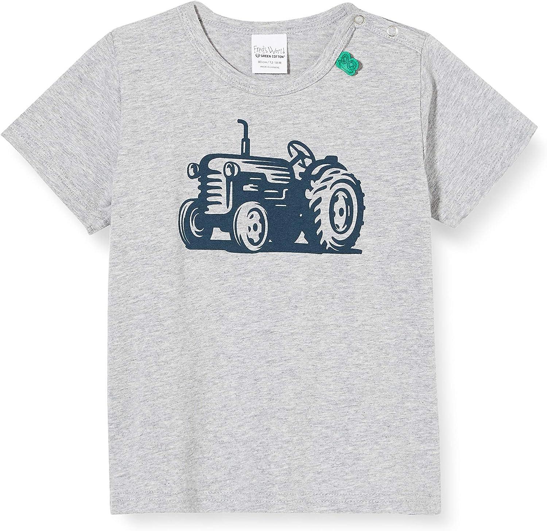 Freds World by Green Cotton Baby-Jungen Farming Front Print T-Shirt