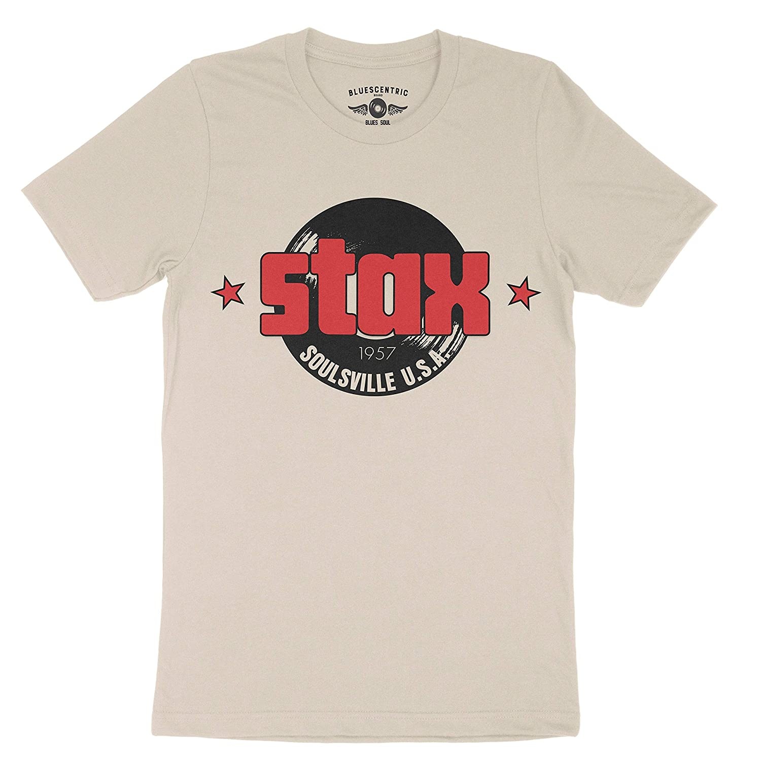 Stax Records Soulsville T-shirt - () Vintage Style Lightweight