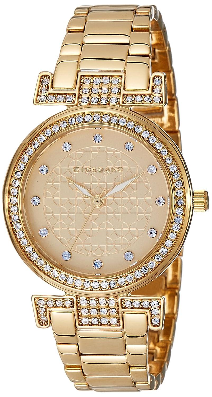 Giordano Analog Gold Dial Women's Watch-A2057-33