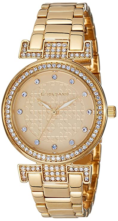 Giordano Analog Gold Dial Women's Watch - A2057-33 Women at amazon