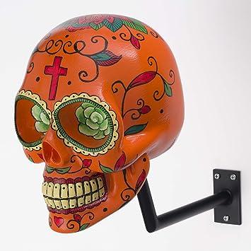 h-skull soporte para casco de calavera.