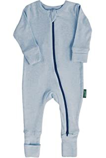 ergoPouch 1.0 TOG Long Sleeve Organic Cotton /& Bamboo Pajamas with 2-Way Zip