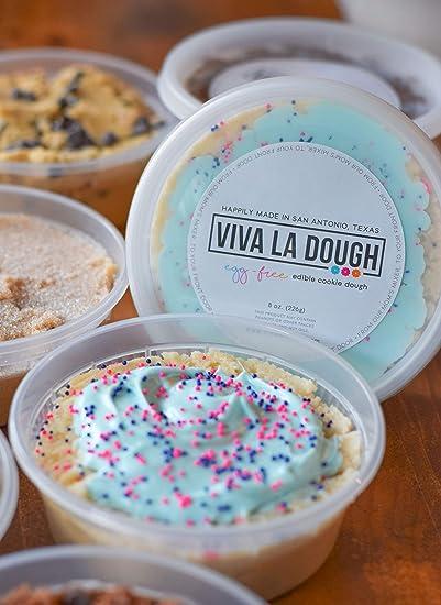 Viva La Dough Edible Cookie