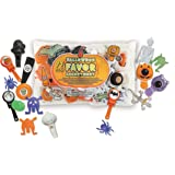 Halloween Party Bag Fillers, Assorted Pack of 72