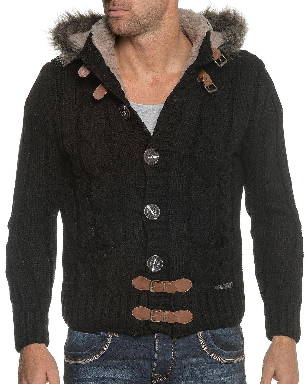 BLZ jeans - Filled Vest Black Elbow Brown