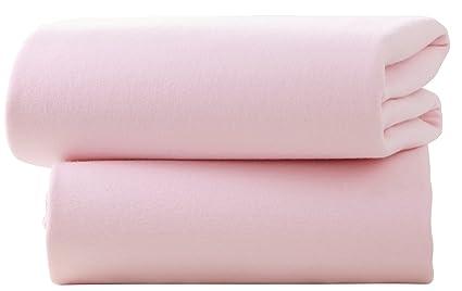 Sábana bajera de algodón ajustable para cochecito (2 ...