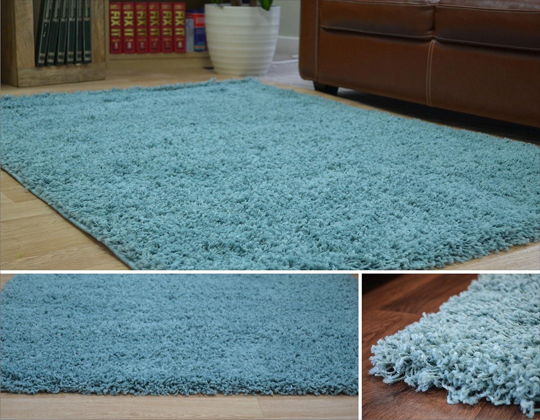 Duck Egg Blue Dense Thick Luxury Shaggy Rug Size S M L 5 Cm Karpet Premium 160x230 Turkiye High Quality 120x170cm 4 X 56 Kitchen Home