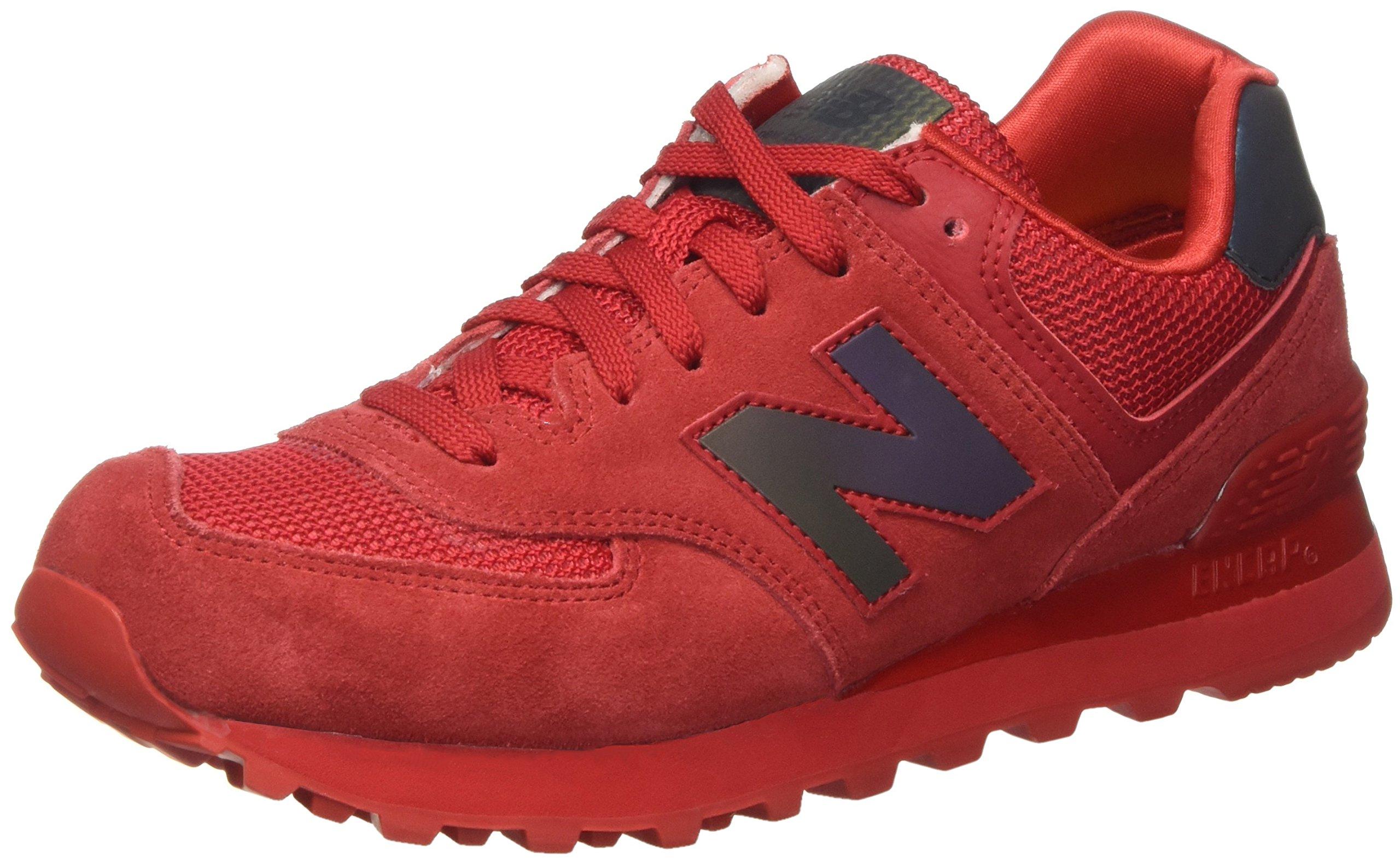 red new balance 574 women