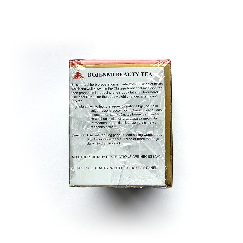 Bojenmi herbal tea - Bojenmi Beauty Tea 60 X 2 5g Bags 3 Boxes Of 20 White Tea Bags Amazon Ca Grocery Gourmet Food