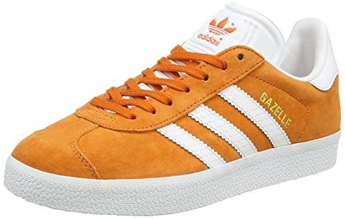 Zapatillas de correr Adidas modelo Gazelle, para mujer, color Naranja, talla 43 1/3: Amazon.es: Zapatos y complementos