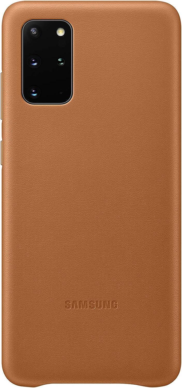 Samsung Leather Smartphone Cover Ef Vg985 Für Galaxy S20 S20 5g Handy Hülle Echtes Leder Schutz Case Stoßfest Premium Braun Elektronik