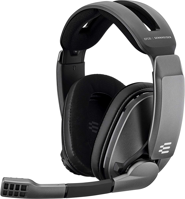 Sennheiser GSP 370 Wireless Gaming Headset, Negro, Over-Ear