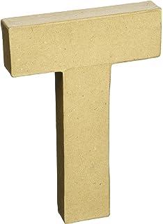 paper mache letter 8x5 12 letter t