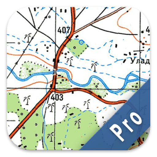 Soviet Military Maps PRO (Best Android Navigation App With Traffic)