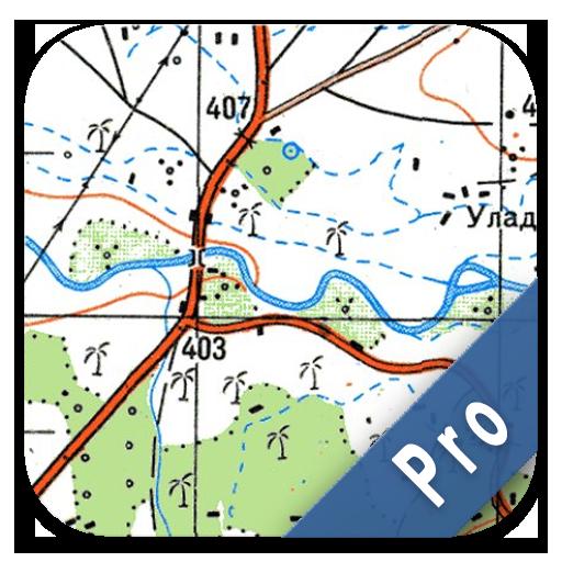 Soviet Military Maps PRO (Best Gps App For Traffic)