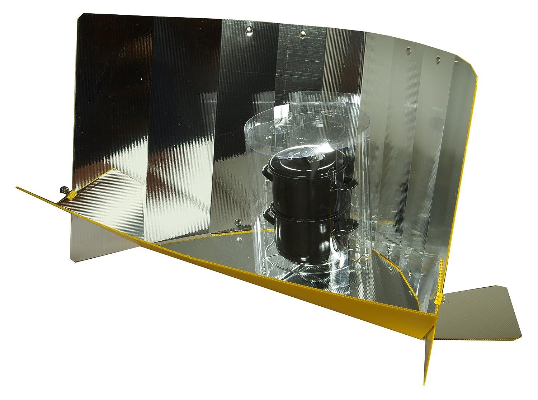 Lightoven - der leichte und transportable Solarkocher plus Drahtuntersetzer, Campingkocher, Autark leben, Selbstversorger