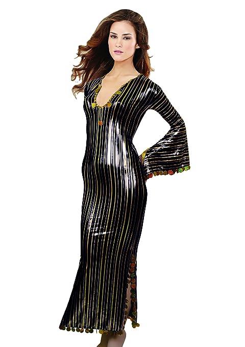 a1f6e1d0483 treasure.of.egypt Oriental Handmade Abaya Sexy Beaded Saidi Costume Galabya  Belly Dance Lingerie