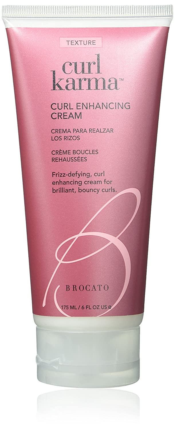 Brocato Curl Karma Curl Enhancing Cream by Beautopia Hair: Defining & Moisturizing Creme for Curls or Waves - 6 oz