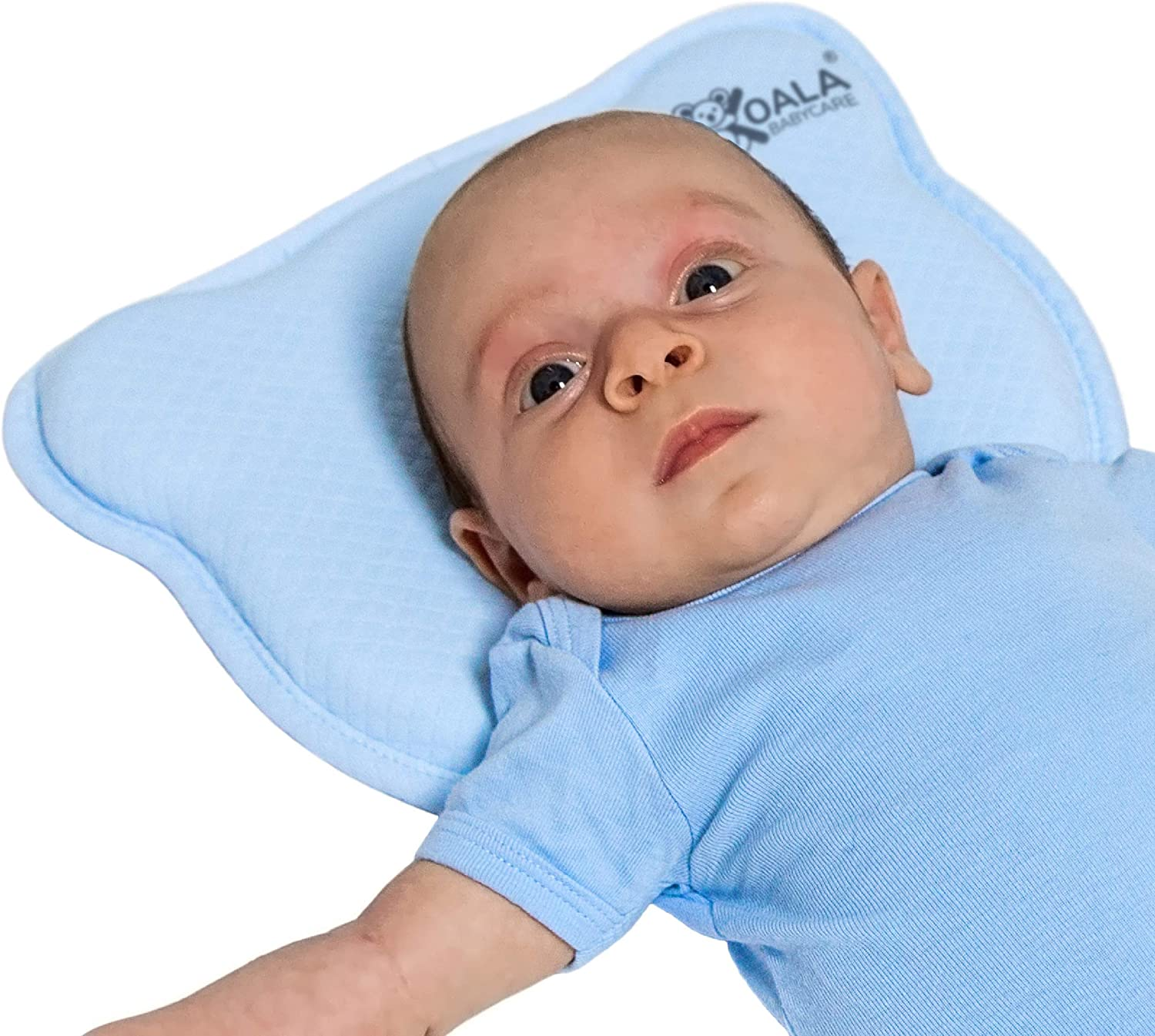 Plagiocephaly Baby Pillow with Two