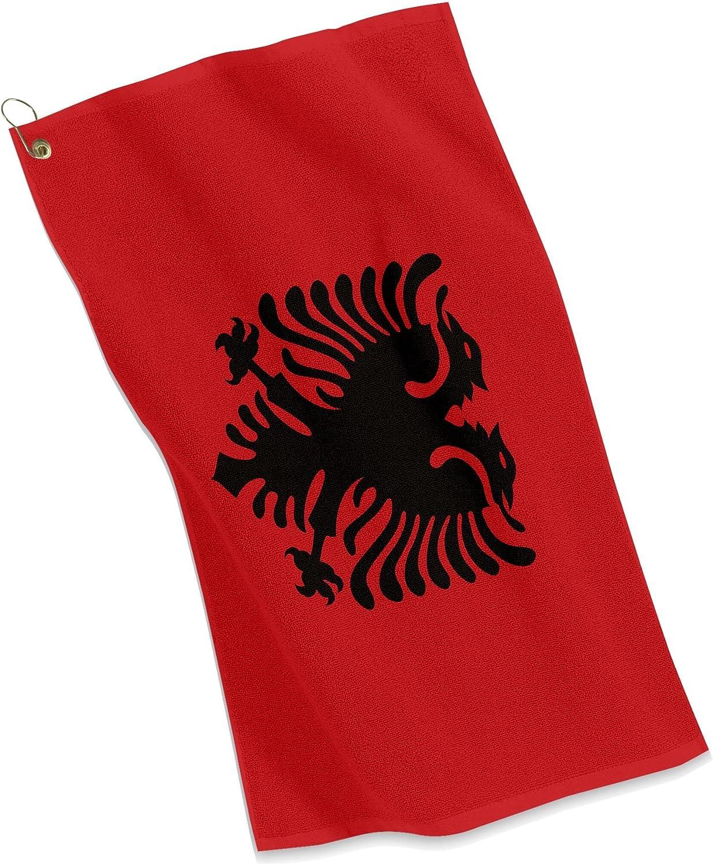 Golf/Toalla – bandera de Albania – albanesa deportes: Amazon.es: Deportes y aire libre