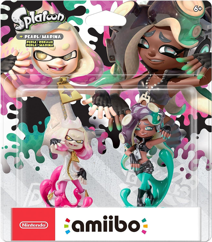 Amazon.com: Nintendo Amiibo - Pearl & Marina 2-Pack ...