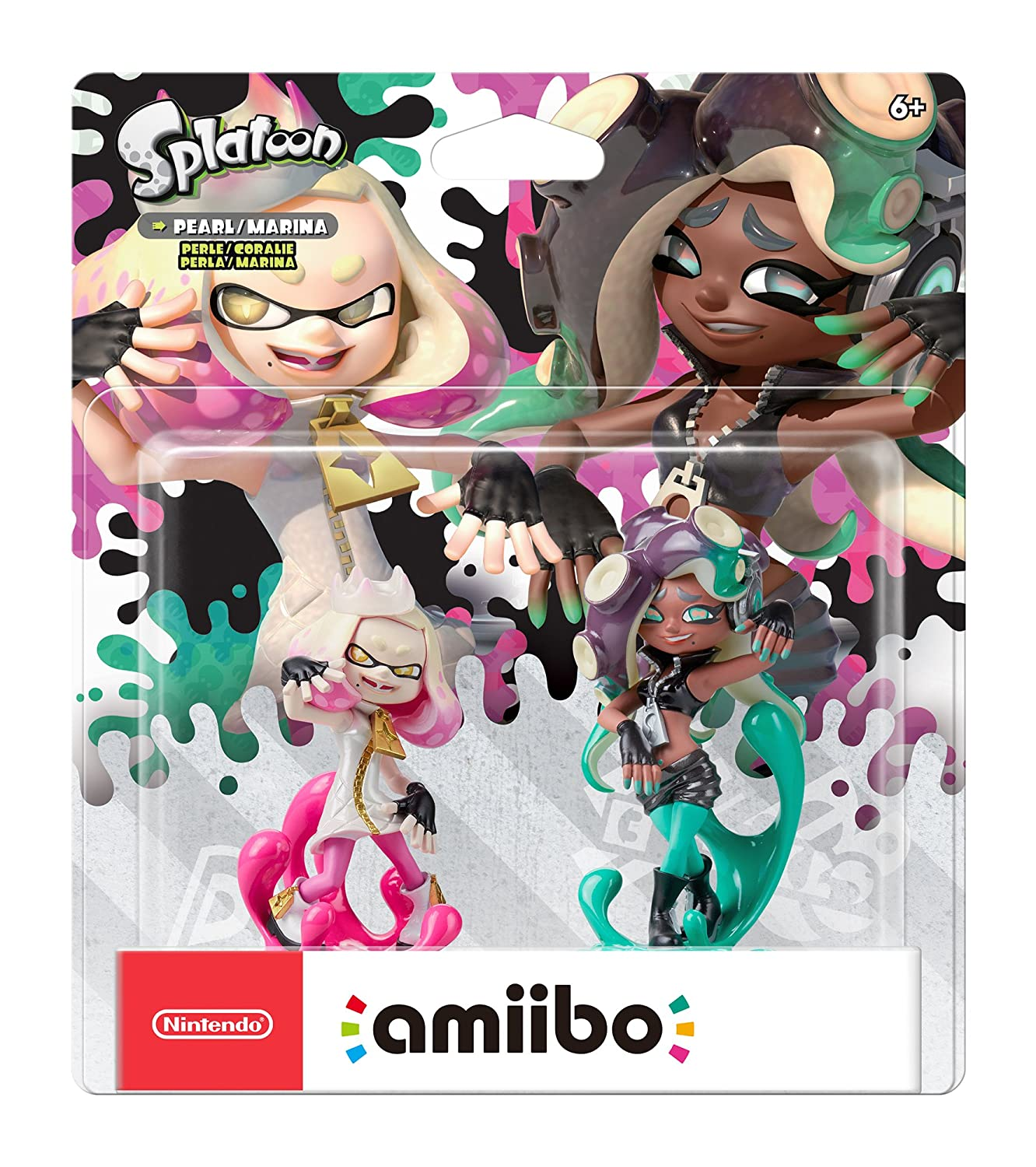 Nintendo Amiibo Pearl Marina 2 Pack Splatoon 2 Video Games
