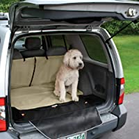 Kurgo Car & Suv Trunk Cover for Dogs, Waterproof Liner for Cargo Area, Dog Nonslip Protector, Bumper Flap for Extra…