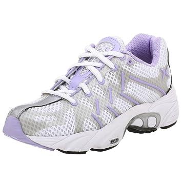 88bea9fd8a Amazon.com | Aetrex Women's Z591W Web Runner Running Shoe, White ...