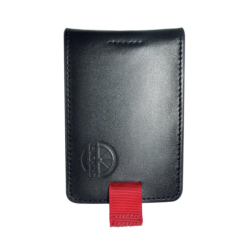 1db8a1fa655e Men's wallet, Lemontec Super Slim Genuine Leather RFID Blocking Wallet and  Money Clip