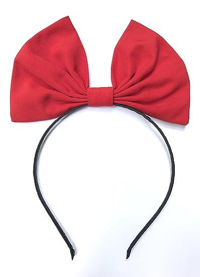 Rojo banda de pelo diadema con lazo para el servicio de entrega de Kiki de  bruja 6e627d325d3c