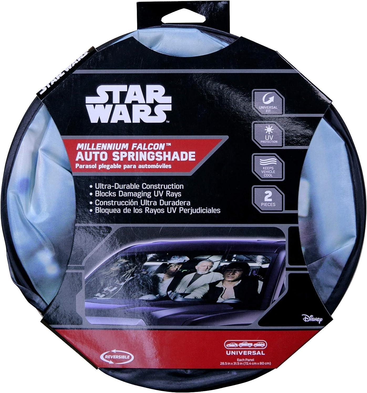 Disney Star Wars Millennium Falcon Spring Sunshade PlastiColor Inc 10587827
