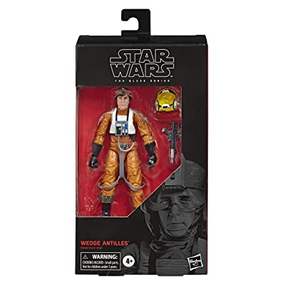 "Star Wars The Black Series Wedge Antilles Toy 6"" Scale The Empire Strikes Back Collectible Action Figure, Kids Ages 4 & Up: Toys & Games"