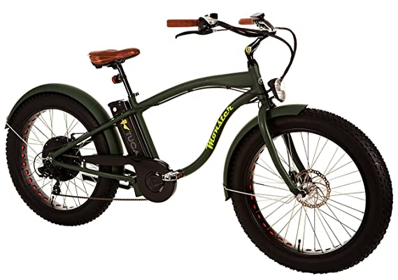 MONSTER 26 - Bicicleta Eléctrica - Cuadro Alu Hidro TB 7005 - Llantas: 26