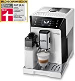 De'Longhi 德龙 PrimaDonna Class ECAM 556.55.W – 全自动咖啡机 配有集成式牛奶系统 3.5英寸(约88.90mm)TFT触摸屏和应用程序控制 自动清洁 36.1 x 26 x 46.9厘米 白色