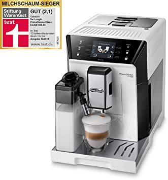 Cafetera automaticá DeLonghi ECAM 556.55.W: Amazon.es ...