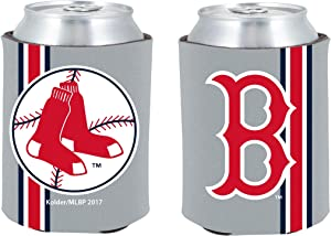 Boston Red Sox 2-Pack CAN Retro Throwback Beverage Insulator Neoprene Holder Cooler Coolie Baseball